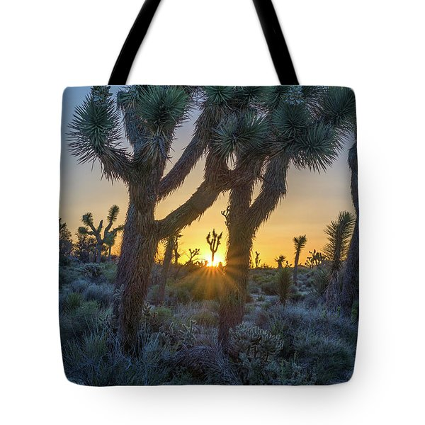 Good Morning From Joshua Tree Tote Bag