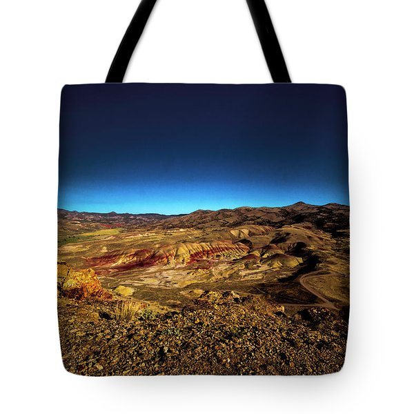 Good Morning From The Oregon Desert Tote Bag