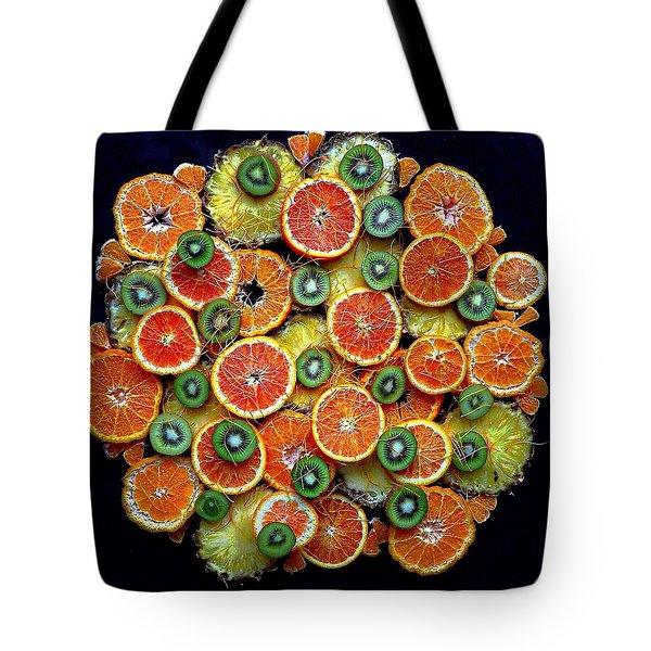 Good Morning Fruit Tote Bag
