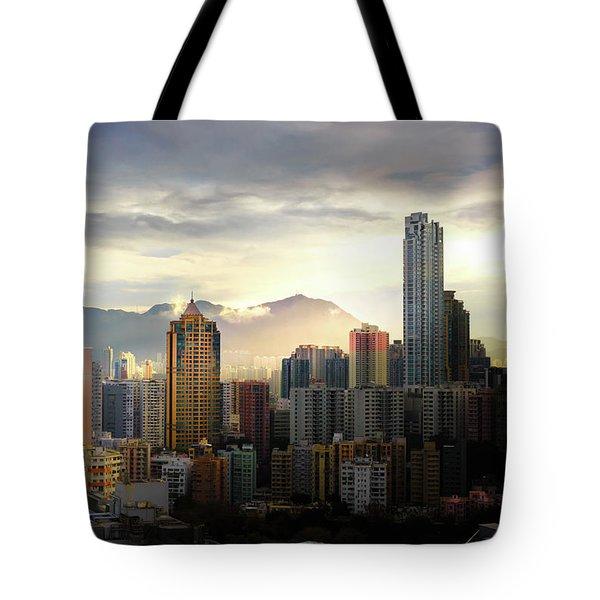 Good Morning, Hong Kong Tote Bag