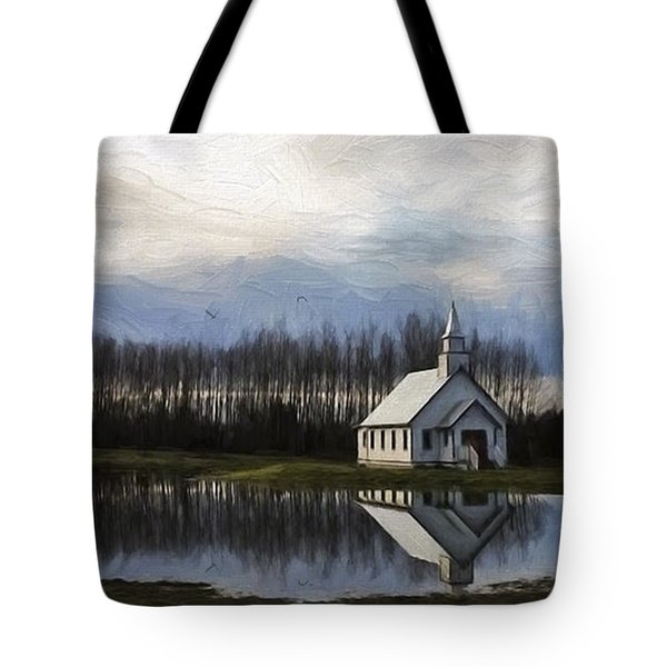 Good Morning - Hope Valley Art Tote Bag by Jordan Blackstone