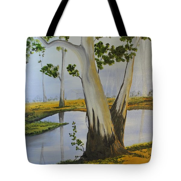 Good Morning Tote Bag by Jack G  Brauer