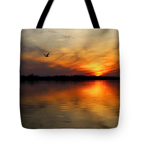 Good Morning Tote Bag by Judy Vincent