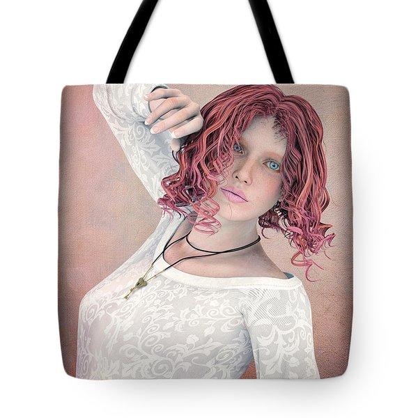 Tote Bag featuring the digital art Good Morning by Jutta Maria Pusl