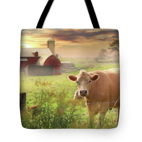 Tote Bag featuring the photograph Good Morning by Lori Deiter