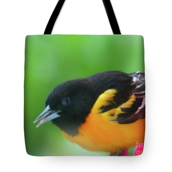 Good Morning Mr. Oriole Tote Bag