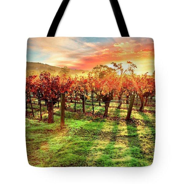 Good Morning Napa Tote Bag