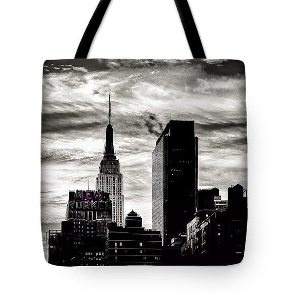 Good Morning Nyc Tote Bag