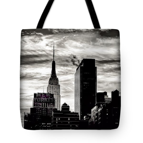 Good Morning Nyc Tote Bag