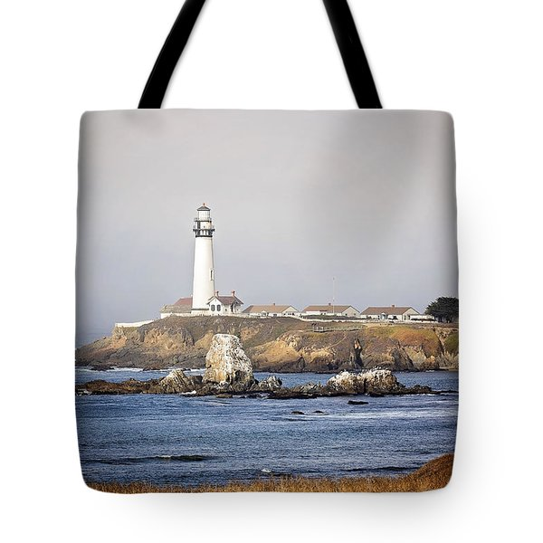 Good Morning Pigeon Point Tote Bag