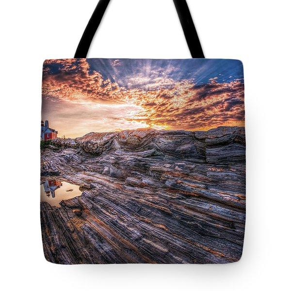 Good Morning Starshine Tote Bag by Neil Shapiro