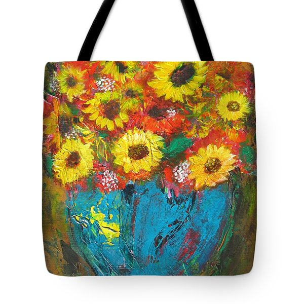 Good Morning Sunshine Tote Bag by Maria Watt