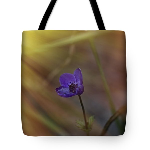 Good Morning Sunshine On Blue Tote Bag by Angela A Stanton