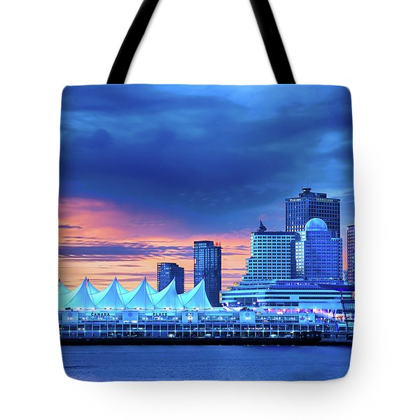 Tote Bag featuring the photograph Good Morning Vancouver by John Poon