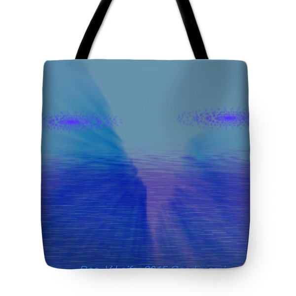 Tote Bag featuring the digital art Good Morning World by Dr Loifer Vladimir