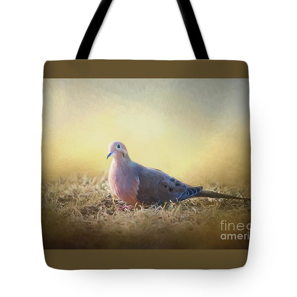 Good Mourning Dove Tote Bag