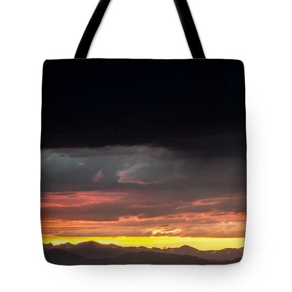 Good Night Colorado Tote Bag