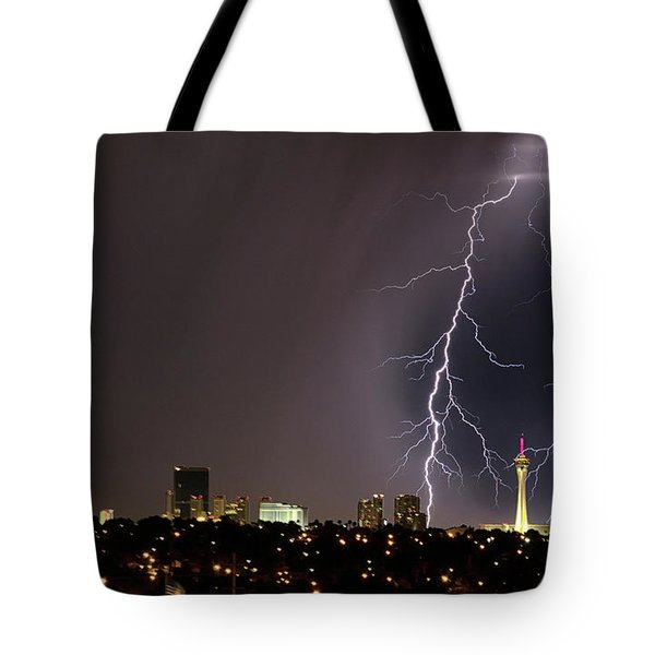 Tote Bag featuring the photograph Good Night Everybody by Michael Rogers