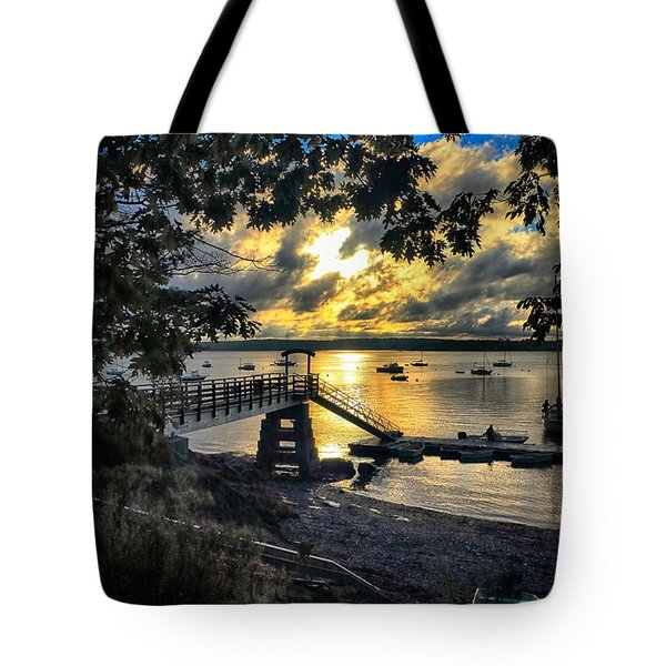 Good Night Madeleine Point Tote Bag