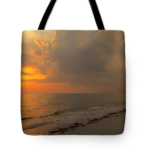 Good Night Sun Tote Bag