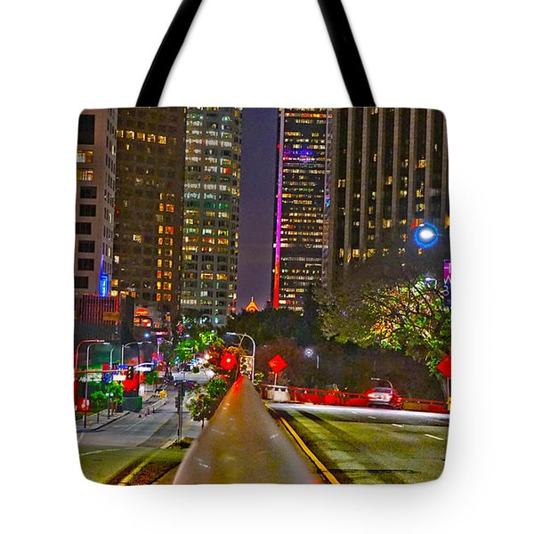 Good Night To Night Lights Tote Bag