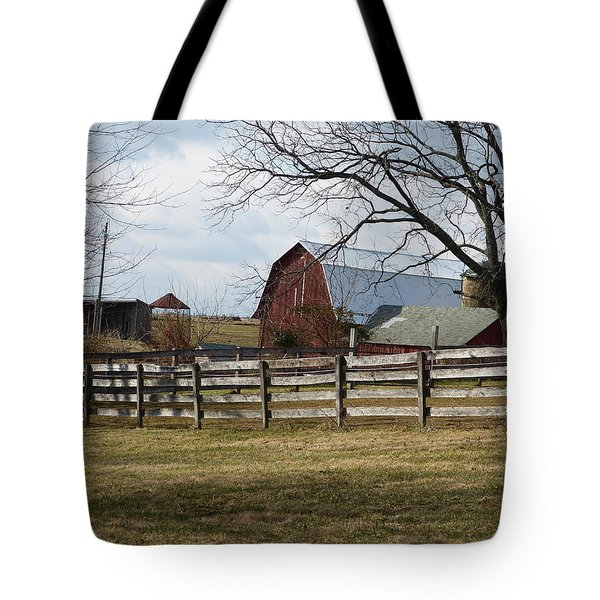 Tote Bag featuring the photograph Good Old Barn by Donald C Morgan