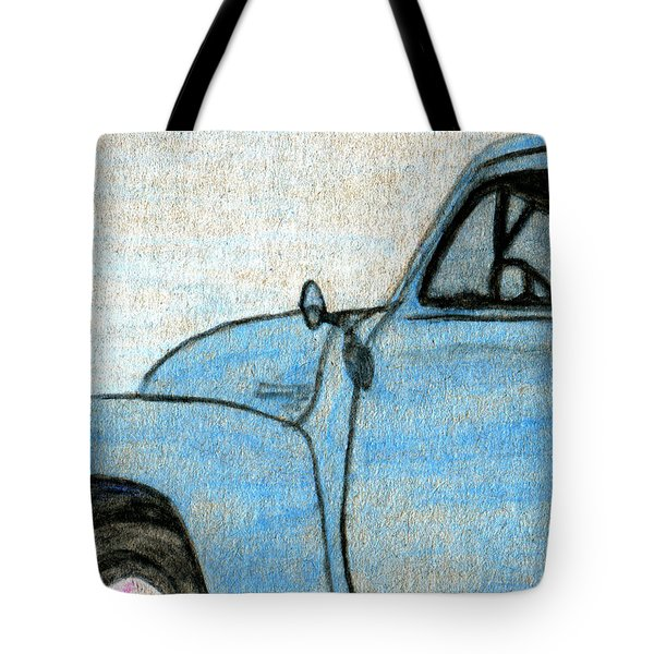 Good Old Pickup Truck Tote Bag by R Kyllo