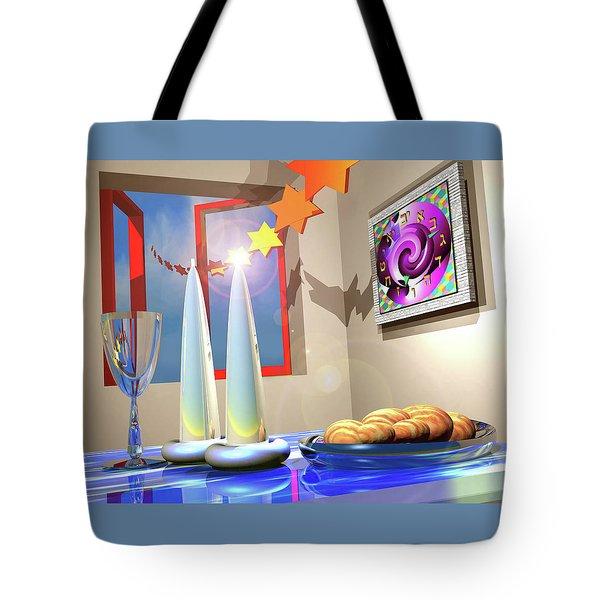 Good Shabbos Tote Bag