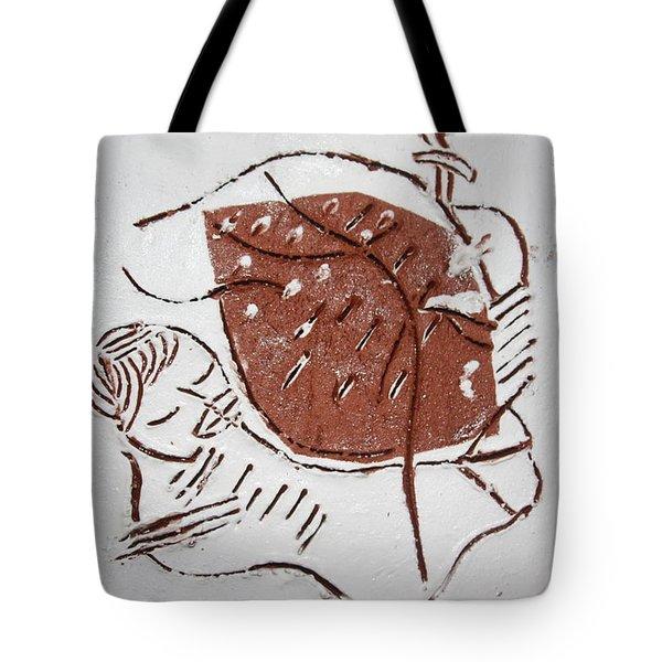 Good Shepherd - Tile Tote Bag by Gloria Ssali