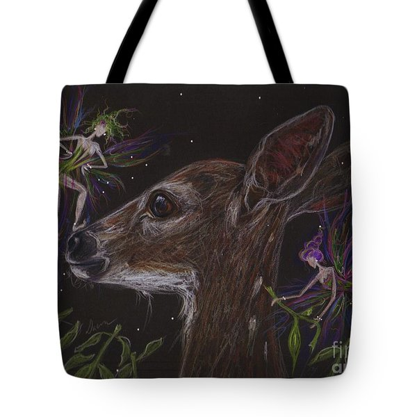 Tote Bag featuring the drawing Good Thing You Are Cute by Dawn Fairies