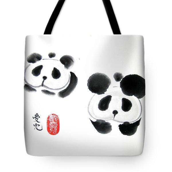 Good Things Come In Pairs Tote Bag by Oiyee At Oystudio