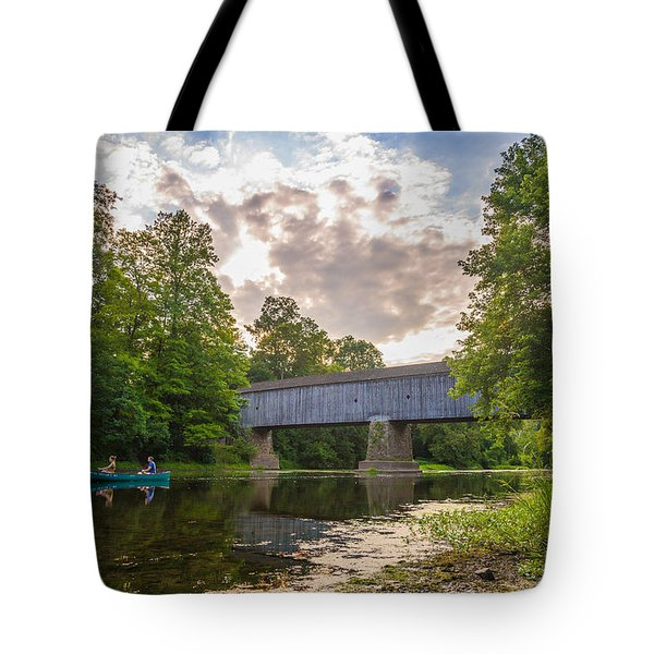 Good To Canoe Tote Bag