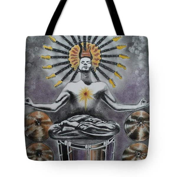 Good Vibrations Tote Bag by Carla Carson