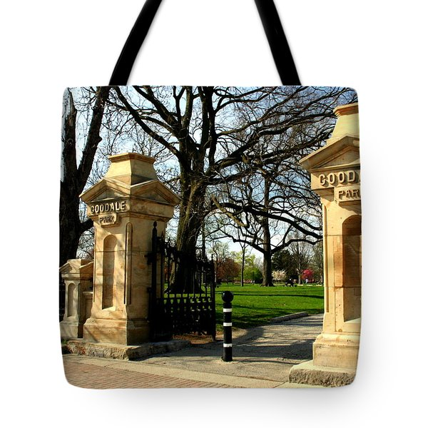 Goodale Park Gateway Tote Bag