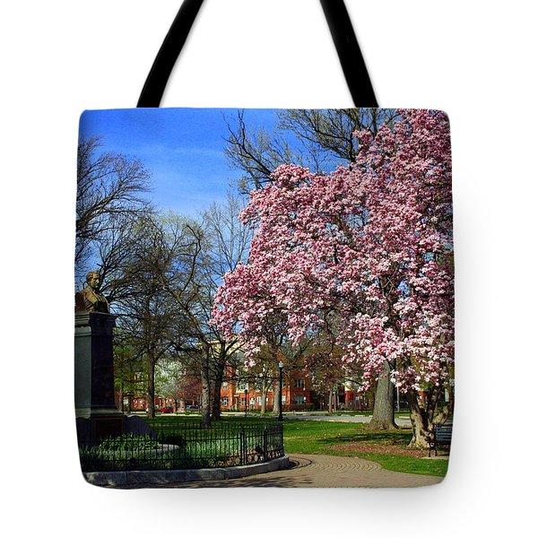 Goodale Park In The Spring Tote Bag