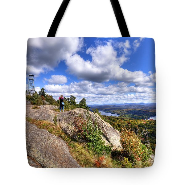 Goodbye Bald Mountain Tote Bag