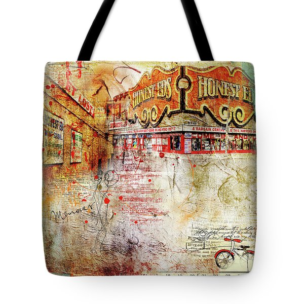 Goodbye Honest Eds II Tote Bag by Nicky Jameson