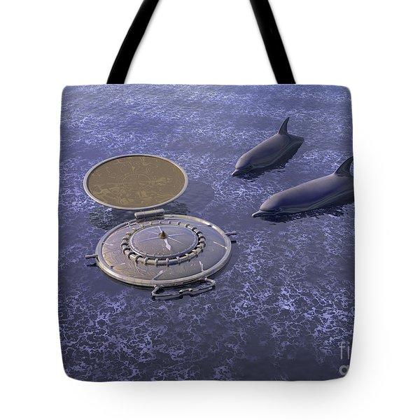Goodbye Humankind - Surrealism Tote Bag