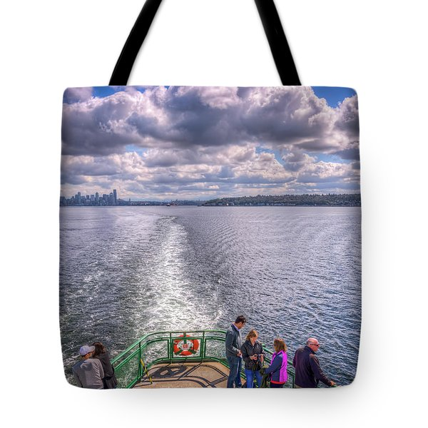 Goodbye Seattle Tote Bag