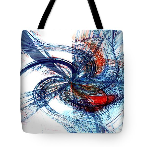 Goodbye Sky Tote Bag by Linda Sannuti
