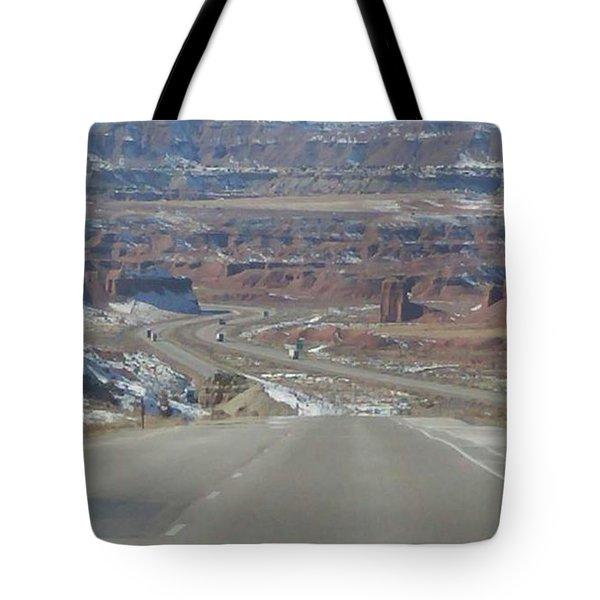 Goodbye Utah Tote Bag