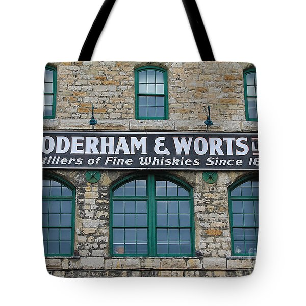 Gooderham And Worts Distillery Tote Bag