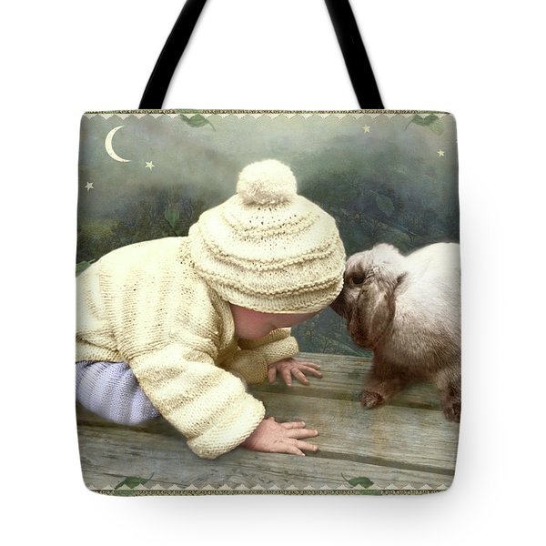 Goodnight Bunny Tote Bag