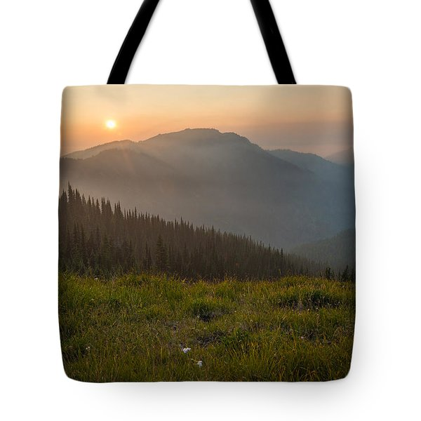 Goodnight Mountains Tote Bag