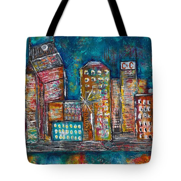 Goodnight Nashville Tote Bag