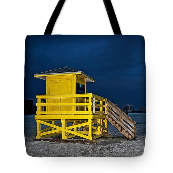 Goodnight Siesta Key Tote Bag