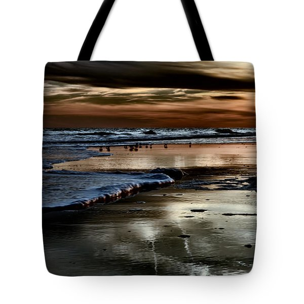 Goodnight Sun Isle Of Palms Tote Bag