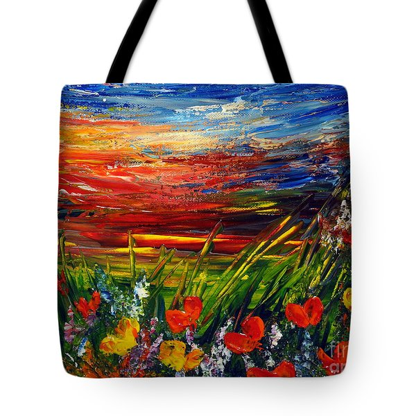 Goodnight... Tote Bag by Teresa Wegrzyn