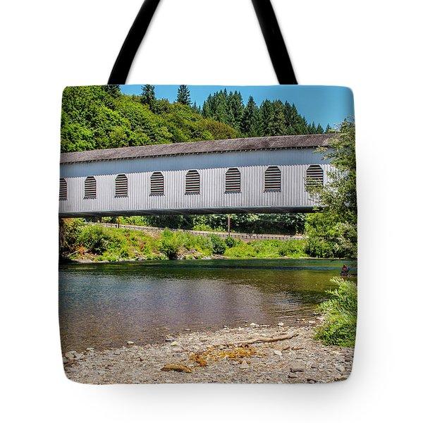 Goodpasture Covered Bridge Tote Bag