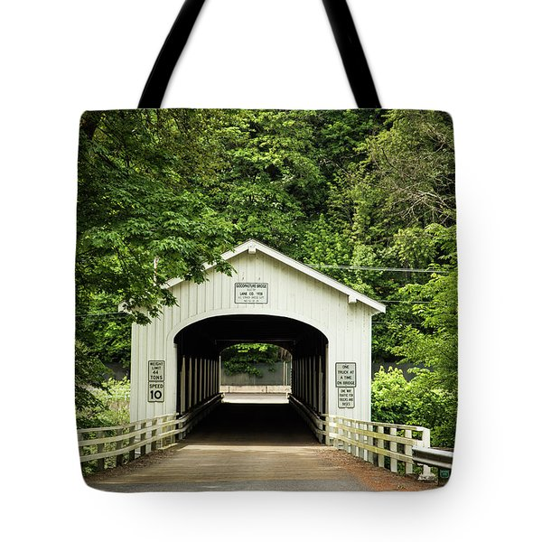 Goodpasture Covered Bridge Tote Bag
